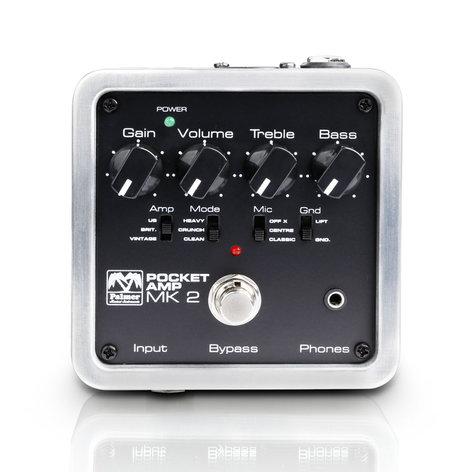 Palmer PEPAMP-MKII Pocket Amplifier With Balanced XLR And Unbalanced 6.35 MM Outputs PEPAMP-MKII