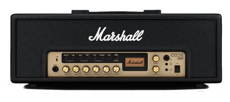 Marshall Amplification CODE 100H 100 Watt Combo Amplifier Head M-CODE100H-U