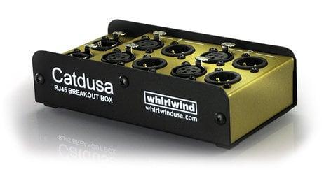 Whirlwind Catdusa 4-Channel RJ45 Breakout Box CATDUSA