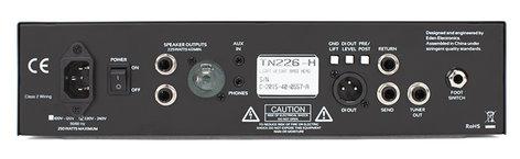 Eden Amplification TN226 225W Bass Amp Head, 4 Ohms TN226