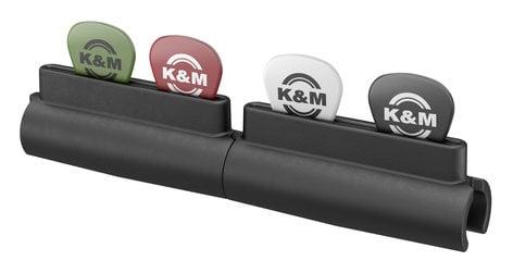 K&M Stands Pick Holder Guitar Pick Holder for Microphone Stands 14510