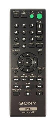 Sony 148700511 RMTD187A Remote for DVPSR200P, DVPCX985V, DVPCX777ES, DVPNS611HP 148700511