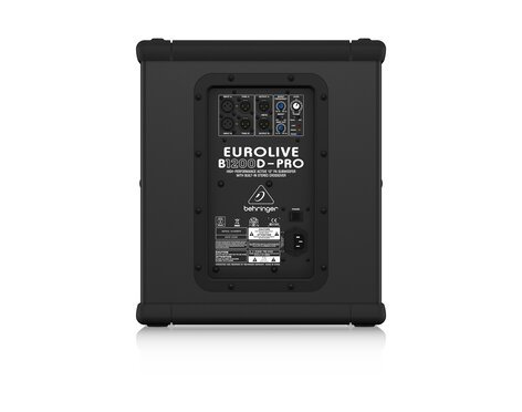 """Behringer EUROLIVE B1200D-PRO 12"""" 500W Active Subwoofer with Built-In Stereo Crossover B1200D-PRO"""