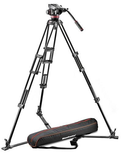 Manfrotto MVH502A-546GB-1 546GB Tripod System Pro Video MVH502A W with Bag MVH502A-546GB-1