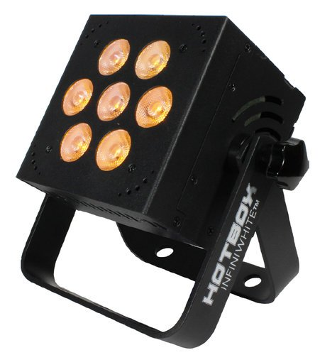 Blizzard Lighting HotBox InifiWhite 7x5W AWC 3-In-1 LED Fixture in White HOTBOX-INFINIWHITE-W