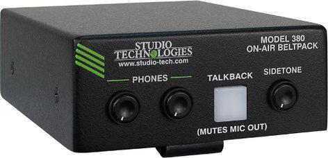 Studio Technologies MODEL 380 On-Air Beltpack MODEL-380