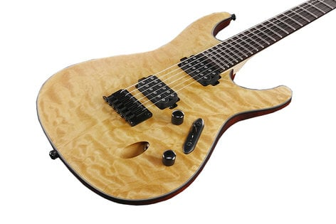 Ibanez S621QM  S Series Electric Guitar with Quilted Maple Top S621QM