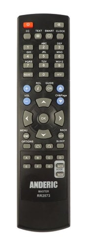 Philips RR2573  Anderic Philips Master TV Remote Control RR2573