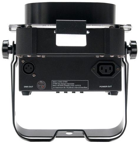 ADJ Flat Par QA5XS 5x 5W RGBA DMX LED Ultra Bright Low Profile Par with Snoot FLAT-PAR-QA5XS