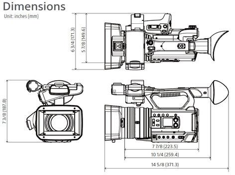 Sony PXW-Z150 XDCAM Camcorder PXWZ150