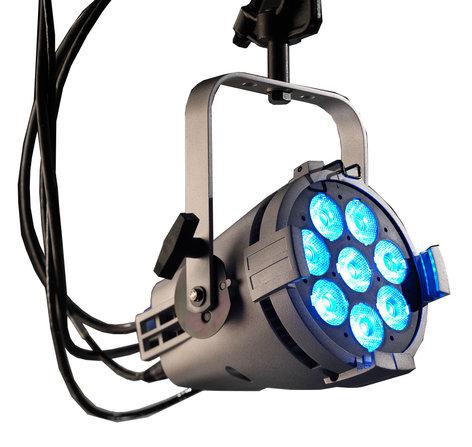 ETC/Elec Theatre Controls CSPARDB-1-A ColorSource PAR with Dark Blue LEDs, White Case and Edison Connector CSPARDB-1-A