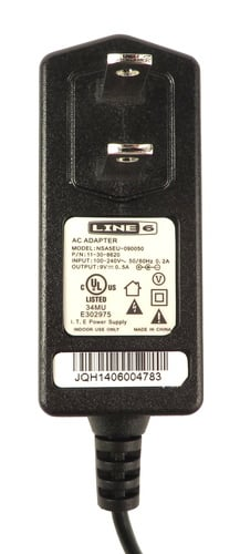 Line 6 98-030-0043-05  DC-1G AC Adaptor for G50 and G30 98-030-0043-05