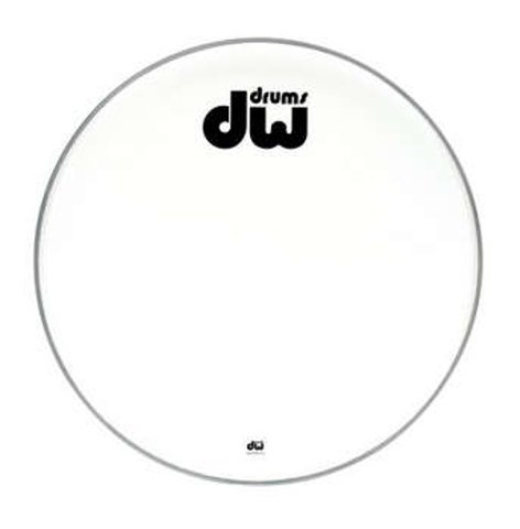 "DW DRDHCW20K 20"" Texture Coated Bass Drum Logo Head DRDHCW20K"
