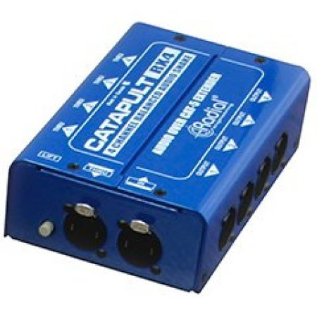Radial Engineering CATAPULT-RX4L 4-Ch Receiver With Balanced Outputs And Line-Level Transformers CATAPULT-RX4L