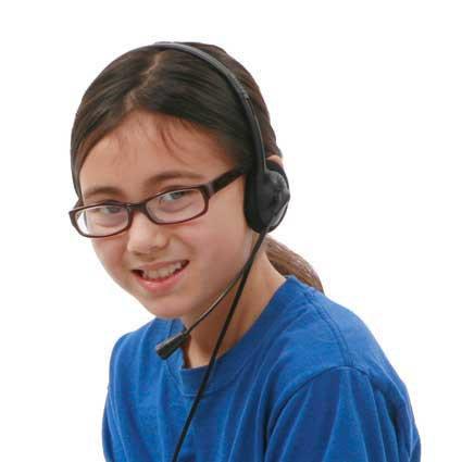 Califone 3065AVT  Lightweight Personal Multimedia Stereo Headset  3065AVT