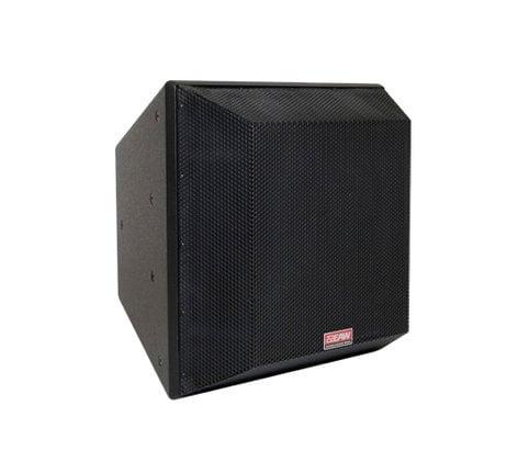EAW-Eastern Acoustic Wrks QX394 Two-Way Trapezoidal Speaker, Black QX394-BLACK