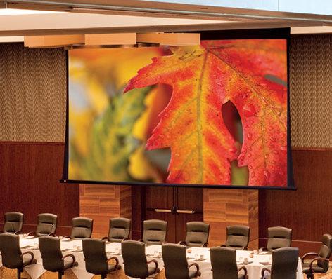 Draper 114615 SeriesVParagonScreen 110 V  Matt White XT1000V Projection Screen 114615