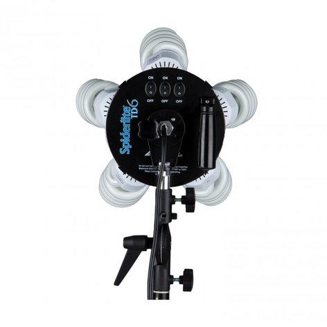 Westcott Spiderlite TD6 7' Parabolic Umbrella with Diffusion Panel Kit 1211C