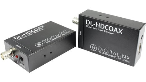 Intelix DL-HDCOAX HDMI & IR Transmitter and Receiver Set Over Coax DL-HDCOAX