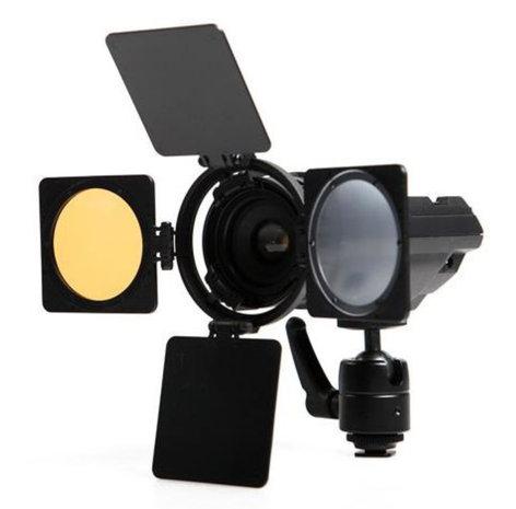 ikan Corporation iLED6 Zoom ENG Daylight Temp LED Camera Light ILED-6