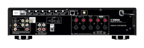 Yamaha RX-S601BL Slimline Receiver, Black RX-S601BL