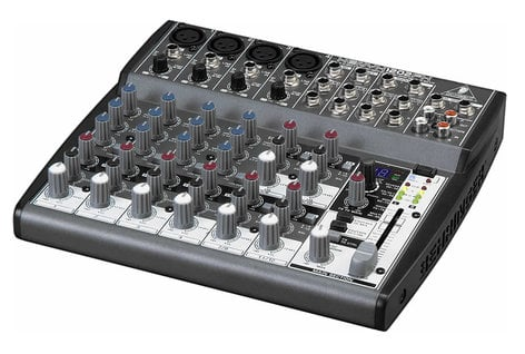 Behringer XENYX 1202FX 12-Input (4 mic, 4 stereo) 2-Buss Plus Digital Effects Send with Rotary Controls XENYX-1202FX