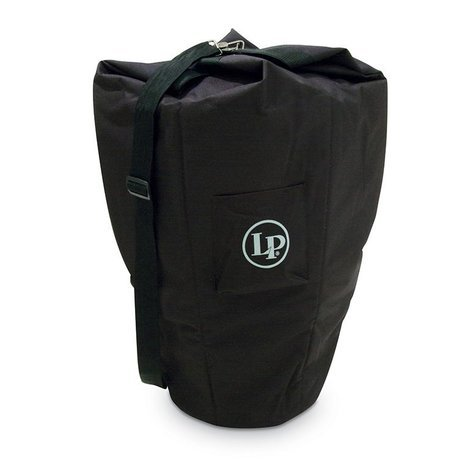 Latin Percussion LP Fits-All Conga Bag Black Nylon Carrying Bag for Most Congas LP542-BK