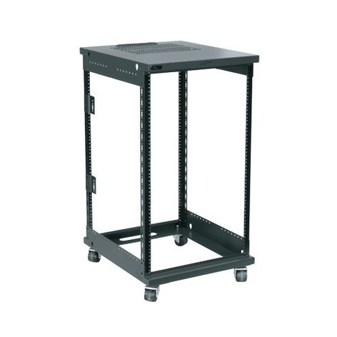 "Middle Atlantic Products Essex Quick Assembly Rack 12RU, 20"" Deep QAR Series Knock Down Rack QAR-12-20"