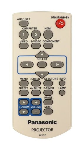 Panasonic 6451048738  Remote Control for PT-VX400U 6451048738