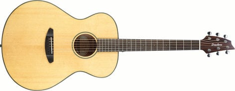 Breedlove Discovery Concert Acoustic Guitar with Mahogany Back and Sides DISC-CONCRT