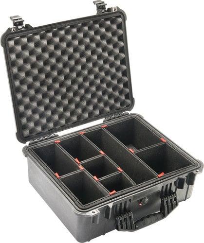 Pelican Cases PC1550TP 1550 Medium Case with TrekPak Case Divider System PC1550TP