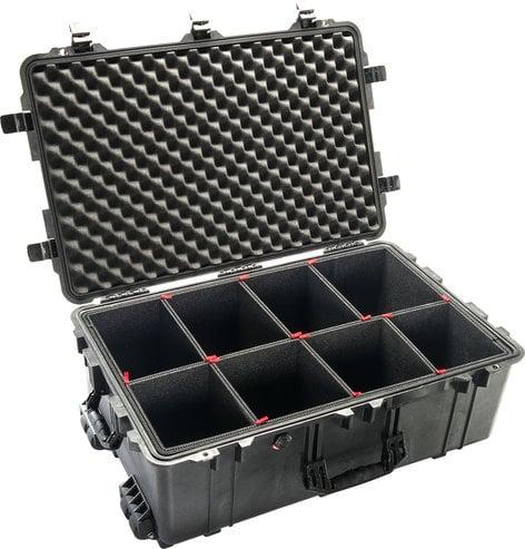 Pelican Cases 1650TP 1650 Large Case with TrekPak Case Divider System PC1650TP
