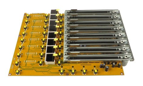 Behringer Q05-AAQ06-00105 Left Fader Bank PCB Assembly for X32 (Original Version) Q05-AAQ06-00105