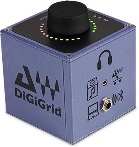 DiGiGrid Q Headphone Amplifier Audio Interface DIGIGRID-Q