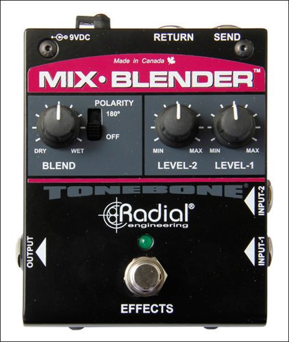 Radial Engineering Tonebone Mix-Blender Buffer, Mixer & FX Loop MIX-BLENDER