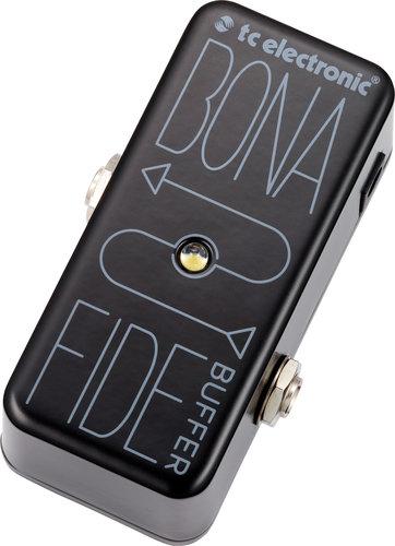 TC Electronic BonaFide Buffer Dedicated Buffer Pedal  BONAFIDE-BUFFER