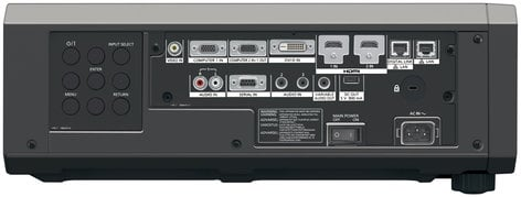 Panasonic PT-RZ570BU 5000 Lumens WUXGA 1-Chip DLP Laser Projector in Black PTRZ570BU