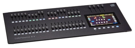 ETC/Elec Theatre Controls ColorSource 40AV 40 Fader Lighting Console with HDMI, Network, and Audio Features CS40AV