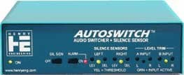Henry Engineering AUTOSWITCH Switcher, Audio with Silence Sensor AUTOSWITCH