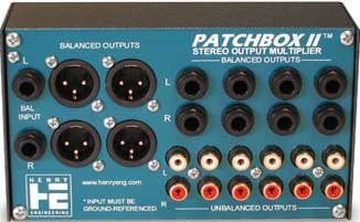 Henry Engineering PATCHBOX-II  Output Multiplier, Stereo PATCHBOX-II