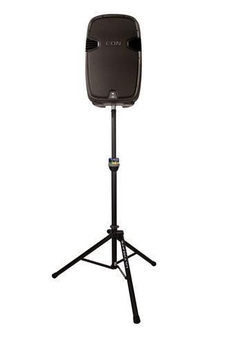 Ultimate Support TS-90B Telelock Tripod Speaker Stand, Black TS90B
