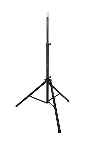 Ultimate Support TS-88B Aluminum Tripod Speaker Stand With Integrated Speaker Adapter And Extra Tall Height, Black TS88B