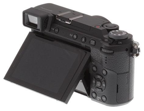 Panasonic DMC-GX85KK 16 MP LUMIX 4K Mirrorless Interchangeable Lens Camera with 12-32mm Lens in Black DMC-GX85KK