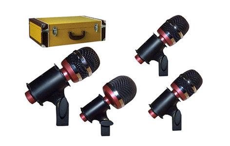 Avantone CDMK-4 Drum Mic Kit With 4 Microphones And Tweed Case CDMK-4