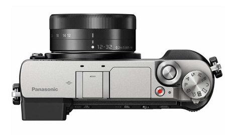 Panasonic DMC-GX85KS 16 MP LUMIX 4K Mirrorless Interchangeable Lens Camera with 12-32mm Lens in Silver DMC-GX85KS