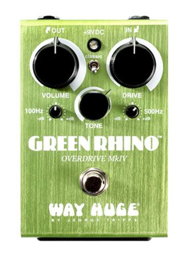 Way Huge Green Rhino Overdrive Mark IV Guitar Effects Pedal WHE207