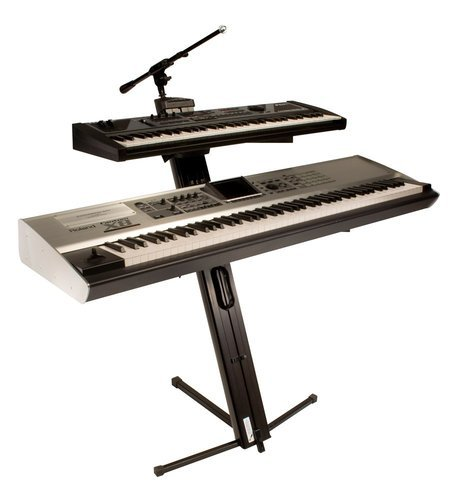 Ultimate Support AX-48 PRO PLUS Keyboard Stand with Boom and Bag AX48PRO-PLUS