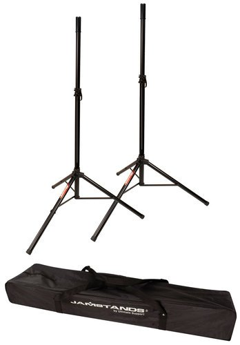 Ultimate Support JS-TS50-2 Pair of Tripod Speaker Stands with Carrying Case JS-TS50-2