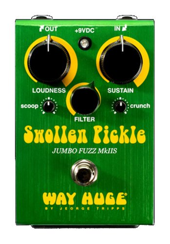 swollen pickle jumbo fuzz mkiis guitar effects pedal by way huge whe401s full compass systems. Black Bedroom Furniture Sets. Home Design Ideas