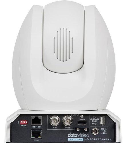 Datavideo Corporation PTC-150W HD/SD-SDI PTZ Camera - White PTC-150W
